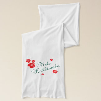 Hawaiian Christmas Scarf