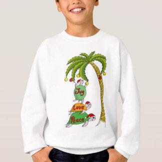 Hawaiian Christmas Turtle Santas Sweatshirt