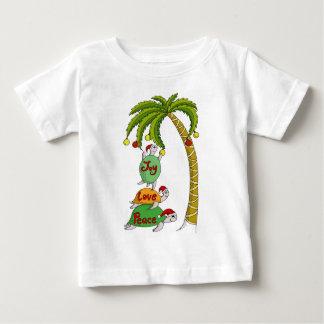 Hawaiian Christmas Turtle Santas T-shirts