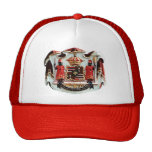 Hawaiian Coat of Arms Trucker Hats
