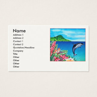 Hawaiian Dolphin Business Card