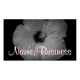 Hawaiian Dreams in Black and White Pack Of Standard Business Cards