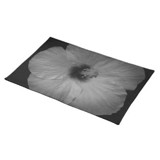 Hawaiian Dreams in Black and White Placemat