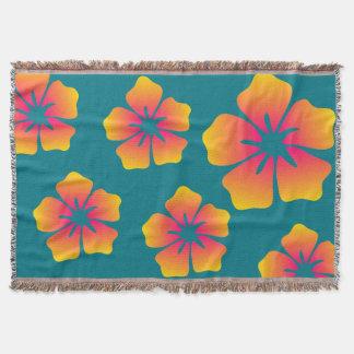 Hawaiian Dreams Throw Blanket