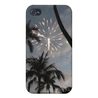 Hawaiian Fireworks iPhone 4 Covers
