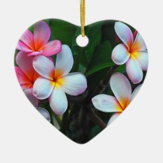 Hawaiian floral Ornament