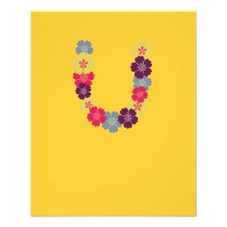 Hawaiian flower chain 11.5 cm x 14 cm flyer