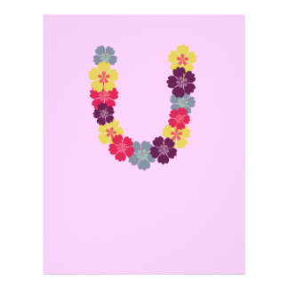 Hawaiian flower chain 21.5 cm x 28 cm flyer