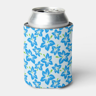 Hawaiian Flowers Can Cooler