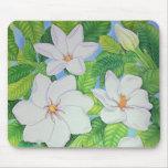 Hawaiian Gardenias Mouse Pad