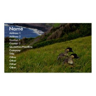 Hawaiian Geese - Nene Business Cards