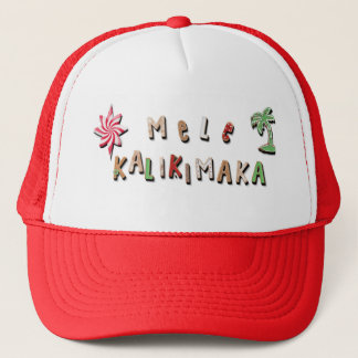Hawaiian Gingerbread Cookies and Candy Trucker Hat
