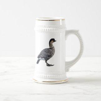 Hawaiian Goose (Nene) Stein Mugs