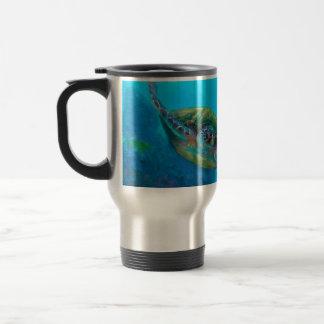 Hawaiian Green Sea Turtle Tropical Fish Reef Coffee Mug