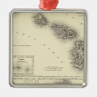 Hawaiian Group Or Sandwich Islands Christmas Ornament