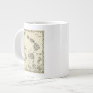 Hawaiian Group Or Sandwich Islands Large Coffee Mug