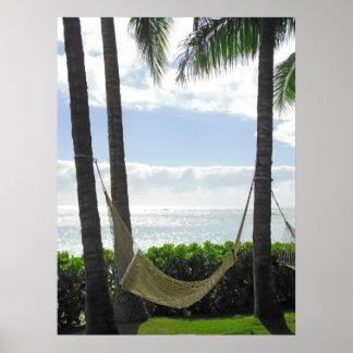 Hawaiian Hammock Poster
