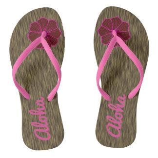 Hawaiian Hawaii Cruise Flip Flops Sandals Gift