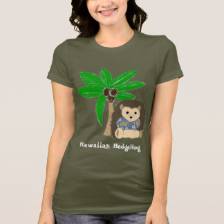 Hawaiian HedgeHog and Palm Tree T-Shirt