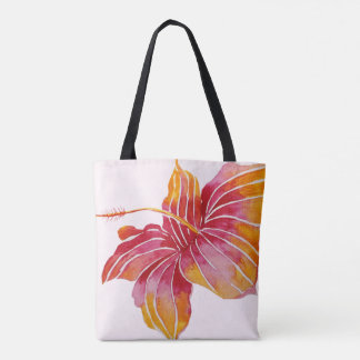 Hawaiian Hibiscus Flower | All-Over-Print Tote Bag