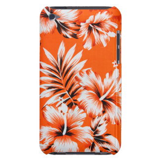 Hawaiian Hibiscus Flower Background Barely There iPod Covers