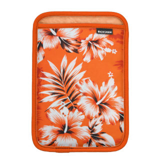 Hawaiian Hibiscus Flower Background iPad Mini Sleeve