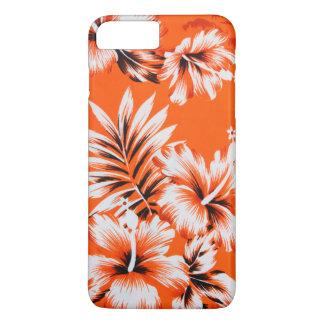 Hawaiian Hibiscus Flower Background iPhone 8 Plus/7 Plus Case