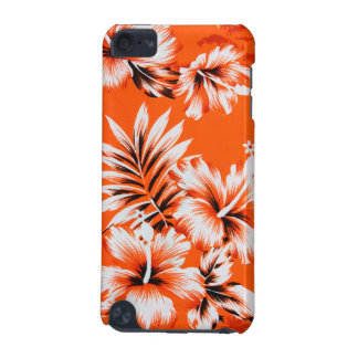 Hawaiian Hibiscus Flower Background iPod Touch 5G Cases