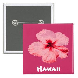 Hawaiian Hibiscus flower button