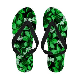 Hawaiian Hibiscus flower design slippers Sandals