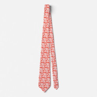Hawaiian Hibiscus Flower Destination Wedding Tie