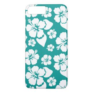 Hawaiian Hibiscus Flower Pattern iPhone 8 Plus/7 Plus Case