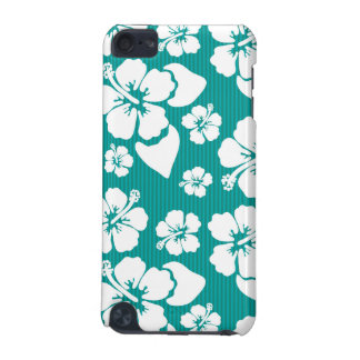 Hawaiian Hibiscus Flower Pattern iPod Touch (5th Generation) Covers