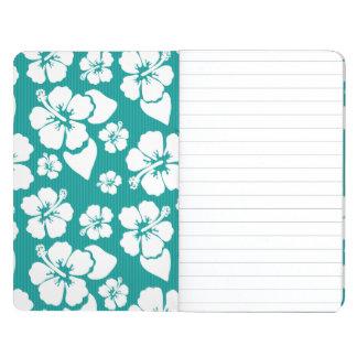 Hawaiian Hibiscus Flower Pattern Journals