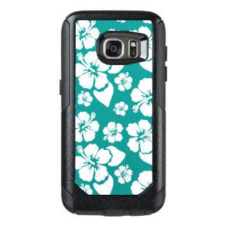Hawaiian Hibiscus Flower Pattern OtterBox Samsung Galaxy S7 Case