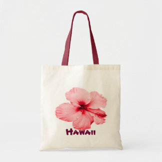 Hawaiian Hibiscus flower tote bag