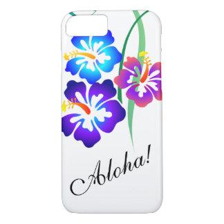 Hawaiian Hibiscus Flowers Aloha iPhone 8/7 Case