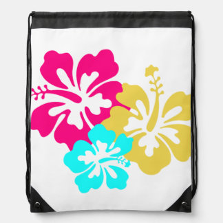 Hawaiian Hibiscus Flowers Backpacks