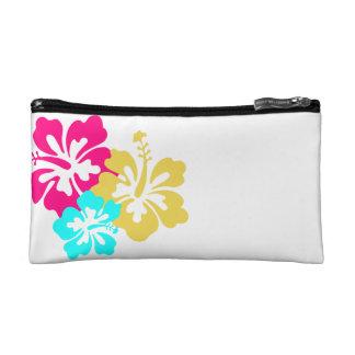 Hawaiian Hibiscus Flowers Cosmetic Bag