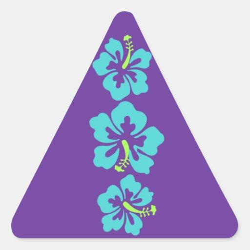 Hawaiian Hibiscus Flowers Stickers
