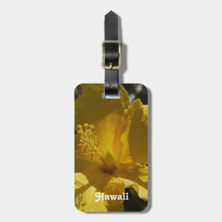 Hawaiian Hibiscus Luggage Tag