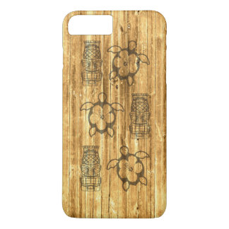 Hawaiian Honu And Tiki Mask iPhone 8 Plus/7 Plus Case