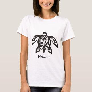 Hawaiian Honu Turtle Ladies T-Short T-Shirt