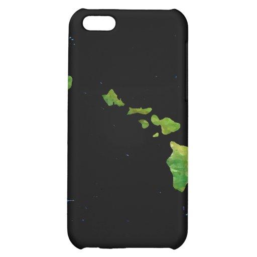 Hawaiian Island Chain in Abstract Art iPhone 5C Cases