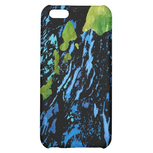Hawaiian Island Chain in Abstract Art Cover For iPhone 5C