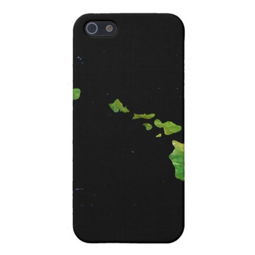 Hawaiian Island Chain in Abstract Art Cover For iPhone 5