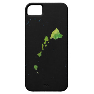 Hawaiian Island Chain iPhone 5/5S Case