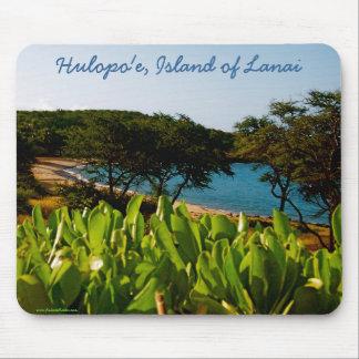 Hawaiian Island of Lanai Photo Mouse Mat