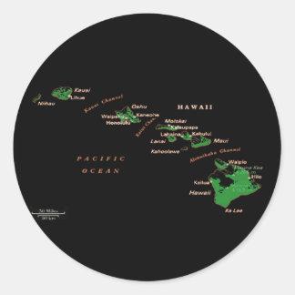 Hawaiian Island Sticker