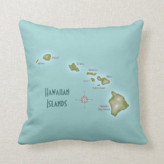 Hawaiian Islands Cushion